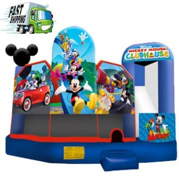 Mickey 5 in1 Bounce House